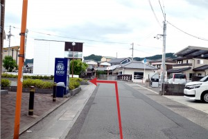 東側進入方経路1
